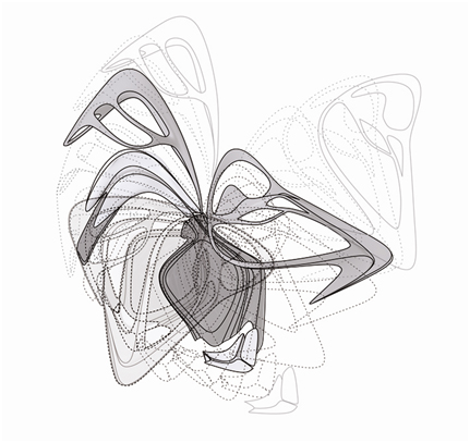 Zaha Hadid Drawing Techniques Parametric Diagrammes